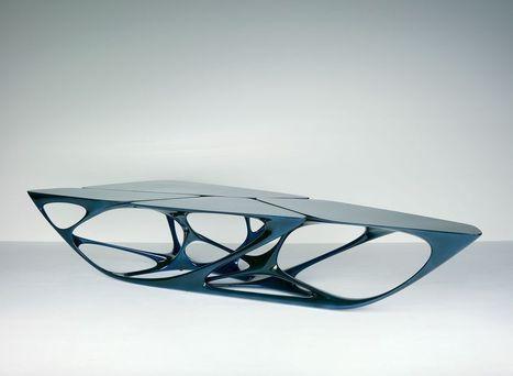 Vitra | Mesa: Design: Zaha Hadid | product design | Scoop.it