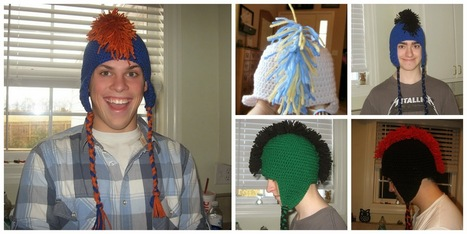 Tracy's Crochet Bliss: Crafting The Mohawk Hat | CrochetHappy | Scoop.it