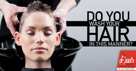 Are you washing your hair in the right manner? | Skin Care | Scoop.it
