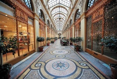 Promenade dans les passages couverts de Paris | Un Jour de plus à Paris | Remue-méninges FLE | Scoop.it