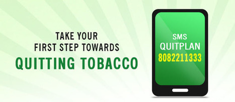 Quitting tobacco |SMS QUITPLAN |Nicorette Quit Support | Quit Smoking | Scoop.it
