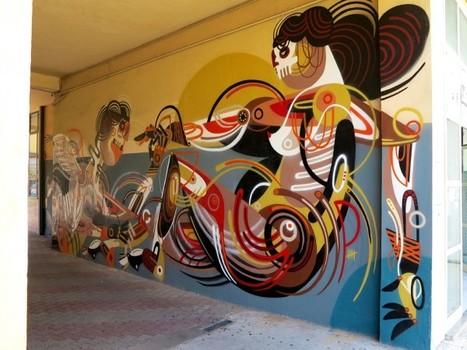 Reka – New Mural In Milan, Italy (Part II) | GRAFFART | World of Street & Outdoor Arts | Scoop.it