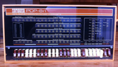 Hackaday Retro Edition: Remaking the PDP 8/I With A Raspberry Pi - Hackaday | Arduino, Netduino, Rasperry Pi! | Scoop.it
