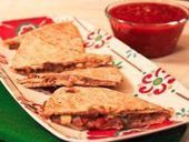 Healthy Recipe: Black Bean and Pepper Jack Quesadillas - Workouts | Healthy Eating - Recipes, Food News | Scoop.it