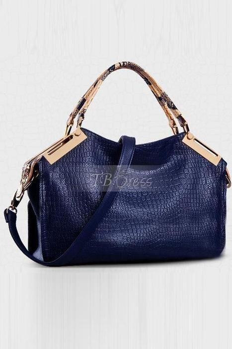 $ 38.79 Fashion Soft PU Crocodile Stripe Women's Shoulder Bag | fashion | Scoop.it