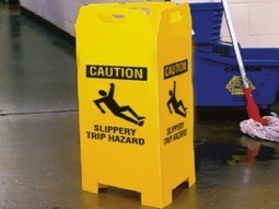 Top 5 Items For Dealing With Wet Floors | OutStation.net | Seton Blog | Scoop.it