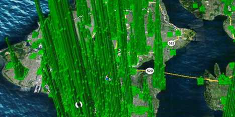 These 3D Maps Show Where Shoppers Are At Any Moment Based On Their Mobile Phone Signals | Digital & eCommerce | Scoop.it