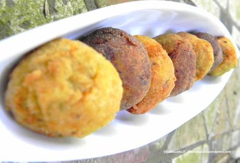 Finger food per un aperitivo fashion: Crocchette in bianco e nero (polpette di ricotta e polpette di melanzane)   VitaDiGusto.IT   Scoop.it