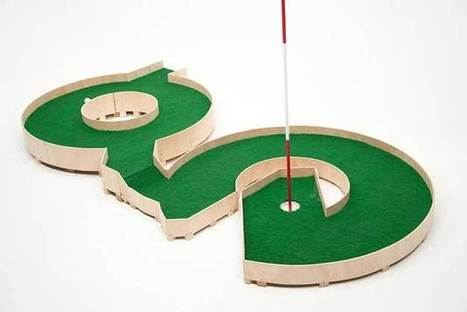 A Mini Golf Course Inspired By Typography [Pics] - PSFK | Typography | Scoop.it