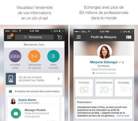 Viadeo a mis 581 jours pour être optimisé sur iPhone 6 et 6 Plus | Digital Marketing Cyril Bladier | Scoop.it