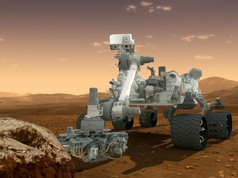 Curiosity's Search for Organics - Astrobiology Magazine | Astrobiology | Scoop.it
