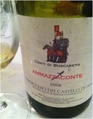 """Conti di Buscareto """"Ammazzaconte"""" Verdicchio dei Castelli di Jesi Riserva DOC (2008)   Wines and People   Scoop.it"""