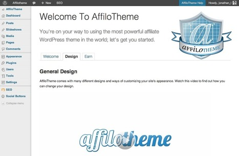 AffiloTheme's (New!) Super Easy Setup | Affilorama | Learn Affiliate Marketing | Scoop.it