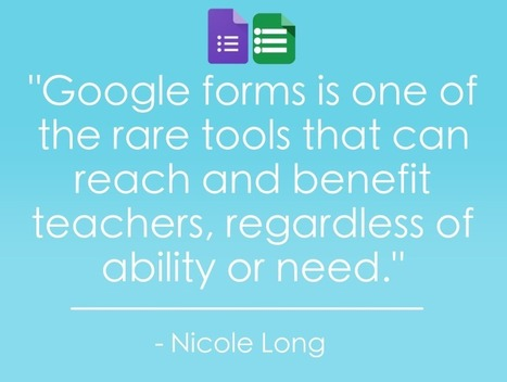5 MORE Ways to Use Google Forms in the Classroom | Using Google Drive in the classroom | Scoop.it
