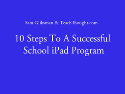 10 Steps To A Successful School iPad Program | E-learning | Scoop.it