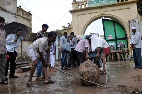 MLA stops Ashoorkhana fencing work | Archaeology News | Scoop.it