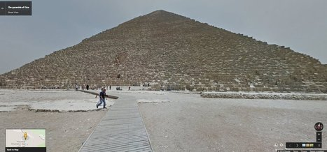 Google Street View Brings Egypt's Pyramids To A Computer Near You | The History of Art | Scoop.it