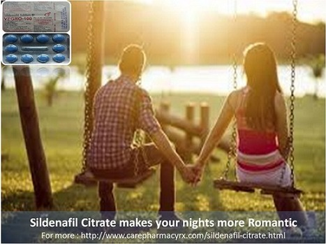 Sildenafil citrate for quicker actions during foreplay. | Health | Scoop.it
