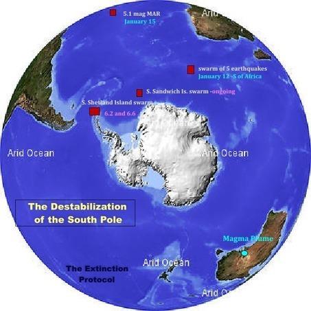 Une série de séismes en Antarctique inquiète des géologues | Ca m'interpelle... | Scoop.it