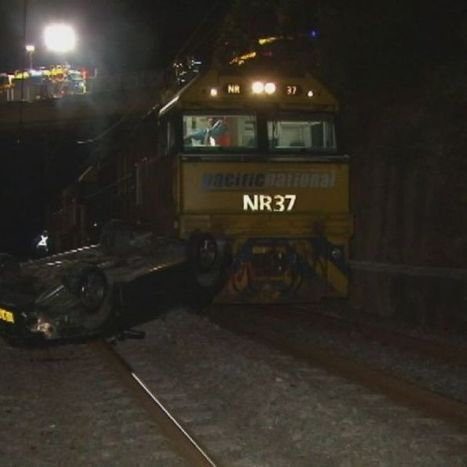 Driver makes lucky escape from train crash   Accidents and Occupational Health & Safety   Scoop.it