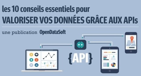 10 Conseils pour Mieux Valoriser vos Données grâce aux APIs | OpenDataSoft News | Scoop.it