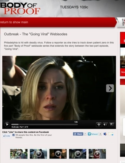 'Body of Proof' goes viral with web series that bridges episodes | Transmedia: Storytelling for the Digital Age | Scoop.it
