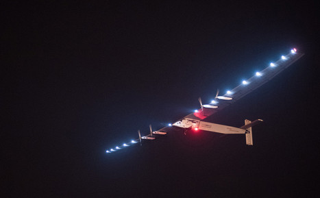 The solar-powered plane flying around the world is finally taking on the toughest part of its journey | Heron | Scoop.it