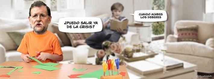 Mariano Rajoy salir de la crisis | Chistes de risa | Partido Popular, una visión crítica | Scoop.it