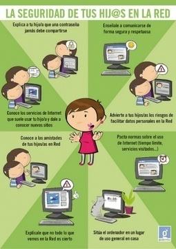 [Infografías] Seguridad en Internet paramenores | Pizarra Digital | Scoop.it