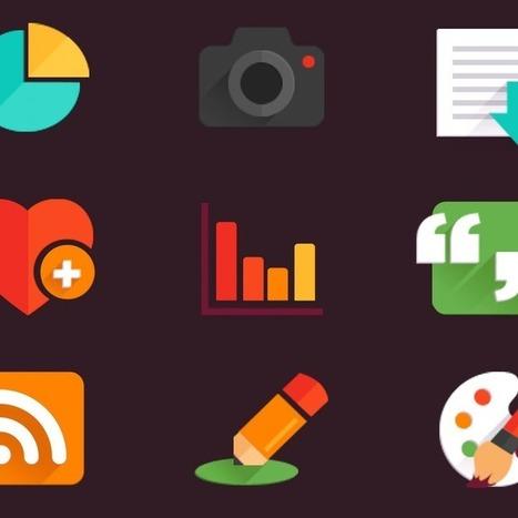 53 Gorgeous Sets of Flat Design Icons | Flat design | Scoop.it