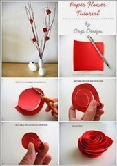 Make rose with papers - bangladesh creative services - backpage.com   Tech Tips and Reviews   Scoop.it