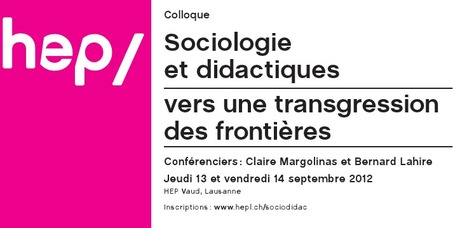 Sociologie(s) et didactique(s) en bord de lac | PEDAGO-ANDRAGO-APPRENANCE | Scoop.it