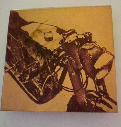 Ducati Art | Ducati Cafe Racer Painting | BarrycroStudios | Etsy | Ductalk Ducati News | Scoop.it