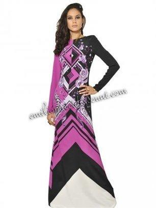 EMILIO PUCCI Crepe De Chine Long Dress Purple Printed [Printed Crepe De Chine Dress] - $208.99 : Emilio pucci dresses online outlet,discount pucci dresses on sale! | chic items | Scoop.it
