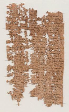 1800 jaar oude brief van Egyptische soldaat ontcijferd   geschiedenis   Scoop.it