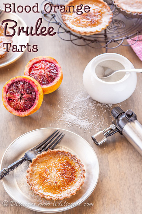 Blood Orange Brulee Tarts | Food, history and trivia | Scoop.it
