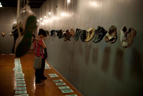 Mexico museum hangs shoes in hunt for missing | Museum & heritage news - Actualités & découvertes musées et patrimoine | Scoop.it