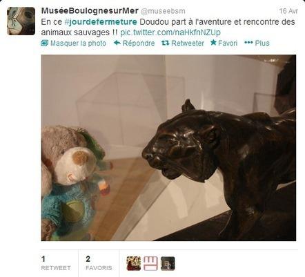 Facebook et Twitter connectent le public au musée… et à l'art ? | Arts et FLE | Scoop.it