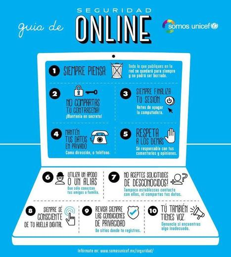 Seguridad online para adolescentes #infografia #infographic #internet | Materiales Tutoría ESO | Scoop.it