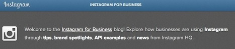 10 Top Tips to use Instagram for your Business   Best Practices Brand & Social Media   Scoop.it