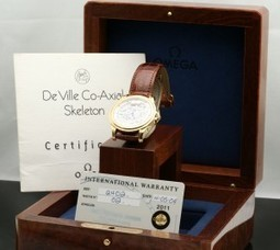 Omega De Ville Co-Axial Skeleton Limited Edition - Watch Buyer | World of Watches | Scoop.it