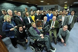 Stephen Hawking Celebrates with Silicon | Intel Free Press | Scoop.it