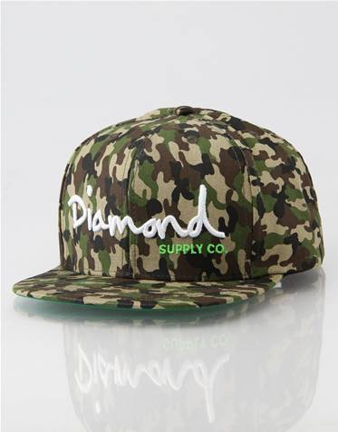 Diamond O.G. Logo Snapback Cap   What Men and I Like to Wear !   Scoop.it