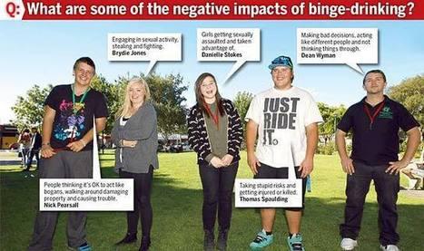 Facebook joins teen drink war Lifestyle - The Mercury - The Voice of Tasmania | Ishara's Year 9 Journal | Scoop.it