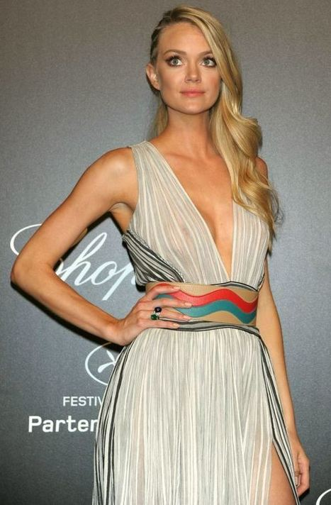 Photos : Lindsay Ellingson exhibe ses seins sexy à Cannes | Radio Planète-Eléa | Scoop.it