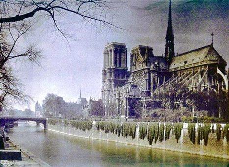 Photos de Paris en couleur en 1900   Art et Culture, musique, cinéma, littérature, mode, sport, danse   Scoop.it