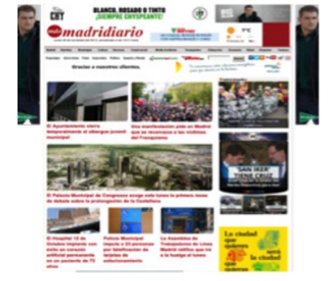 LA PRESENCIA DE LA PUBLICIDAD EN LA COMPOSICIÓN VISUAL DE LOS DIARIOS ONLINE / Belinda de Frutos Torres, Noemi C. Martín García | Comunicación en la era digital | Scoop.it