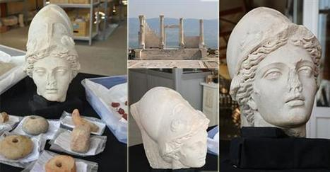 Athena's head unearthed in Turkey's Laodicea | LVDVS CHIRONIS 3.0 | Scoop.it
