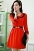 Graceful 3/4 Sleeve A-line Dress - OASAP.com | Oasap street fashion | Scoop.it
