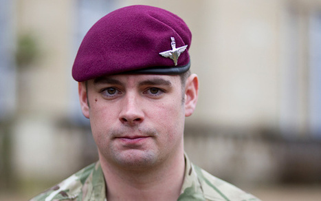 Para becomes first living VC recipient of Afghan war - Telegraph | Cyber rebels | Scoop.it